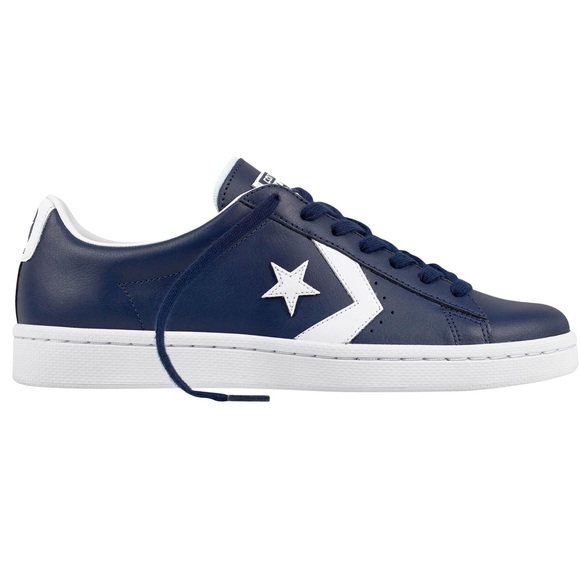 a9cb605981dd NWT Converse Pro Leather 76 OX midnight navy white
